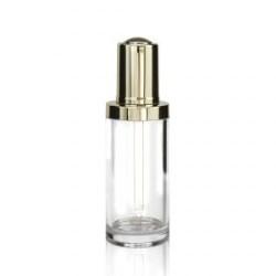 Button Dropper Glass Bottle