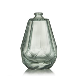 Clear Crystal Glass Bottle