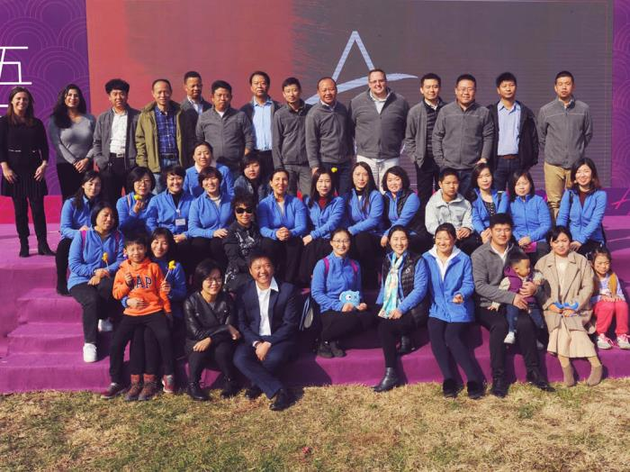 Anisa International commemorates 15 years of brush making at Anisa Tianjin