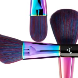 61 percent of women who use makeup brushes clean them less than once a month or not at all