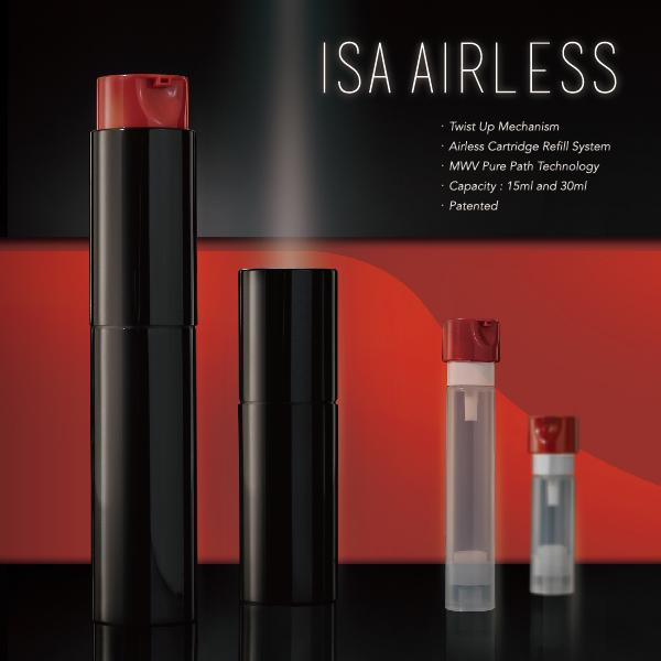 Twist Up Airless Packaging Isa Airless Company News