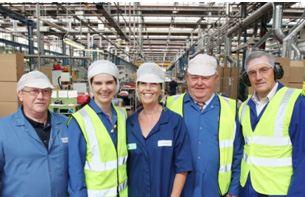 Global Closure Systems Norwich plant celebrates 50th anniversary