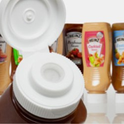 Zeller Plastik UK's valve design dispenses Heinz condiment sauces with particles