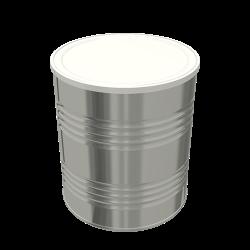 Steel Cylindrical ø99x114.7 - 2x4