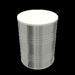Steel Cylindrical ø99x135.5 2x4