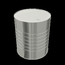 Steel Cylindrical ø127x153 - 6x1