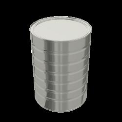 Steel Cylindrical ø153x216 - 6x1