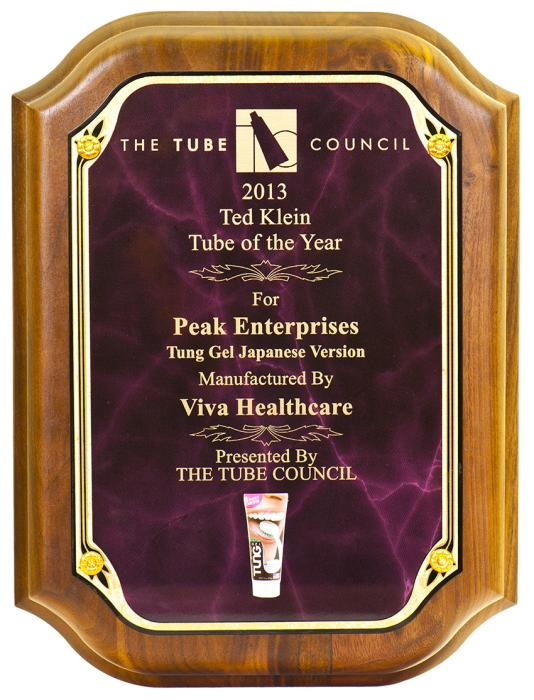Viva Healthcare Packaging wins 2013 Ted Klein Tube of the Year award