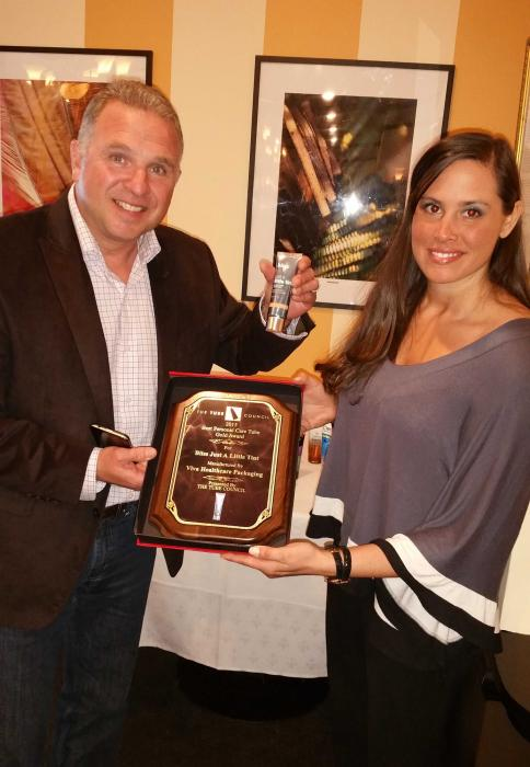 Viva IML Tube wins 2015 Tube Council Ted Klein Tube of the Year Award