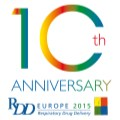 The tenth anniversary of RDD Europe: A great success for the international Respiratory Drug Delivery community