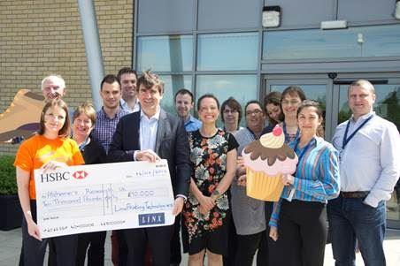 Linx raises £10,000 for Alzheimer's research UK