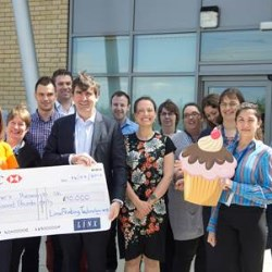 Linx raises £10,000 for Alzheimer's research UK