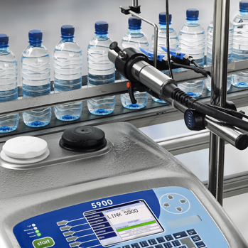 Linx 5900BC Bottle Marking Continuous Inkjet Printer Solution