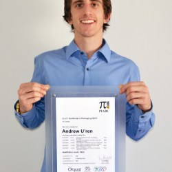 AIP scholarship winner graduates with Certificate in Packaging