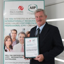 Australian Institute of Packaging announces inaugural Certified Packaging Professional for Australasia