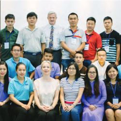 Packaging technology training in Vietnam