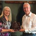 Allan Kenny FAIP is awarded 50 year membership commemoration