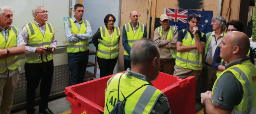 "AIP partners with Vanden Recycling and South Melbourne Market: ""Think beginning not end"""