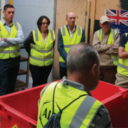 AIP partners with Vanden Recycling and South Melbourne Market: Think beginning not end
