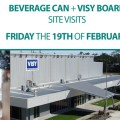 Site Visits Visy Beverage Can + Visy Board (QLD)