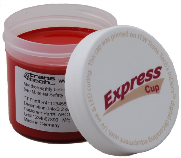 ExpressCup Pad Printing Ink delivers convenience while reducing