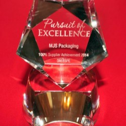 3M recognizes MJS Packaging with top supplier award