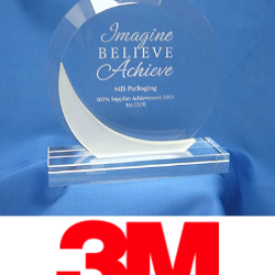 MJS Packaging recognized again by 3M with top supplier award