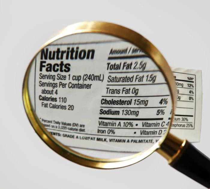 New FDA-compliant nutrition fact label changes to start adopting today
