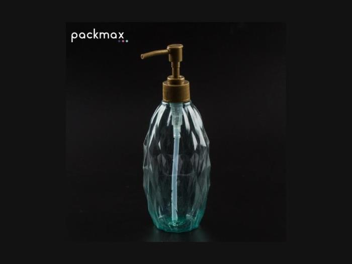 Packmax presents its new crystal-shaped bottle
