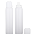 Tall, sophisticated PET bottle with fine mist sprayer