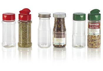 Acti Pack releases new spice bottles in PET