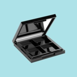 Color Cosmetic Rectangular Compacts