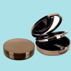 Color Cosmetic Round Compacts