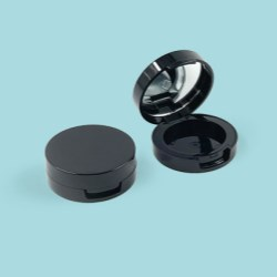 Small Mirrored Round Compact Baoyu 1032A