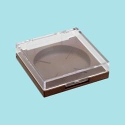 Square Clear Lid Compact Baoyu 664