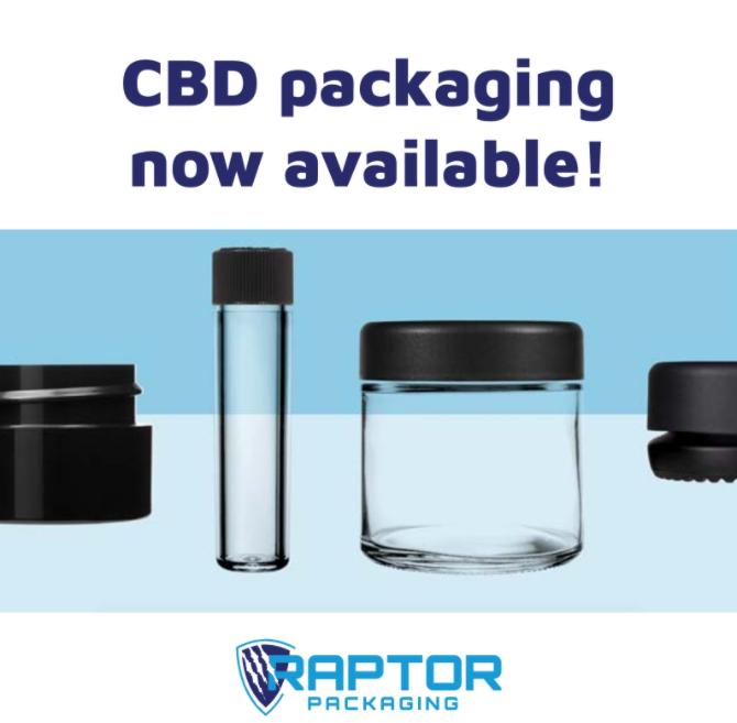 Raptor Packaging Stocks CBD Packaging Solutions