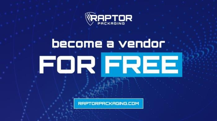 Become a Raptor Marketplace Vendor for Free