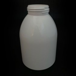 10oz PET White Bell Round 40-410