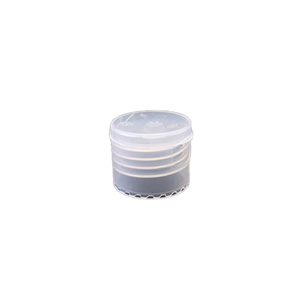 24-410 P/P Natural Smooth Flip Top Cap, No Liner - 855