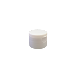 24-410 P/P White Smooth Flip Top Cap S2, No Liner - 816