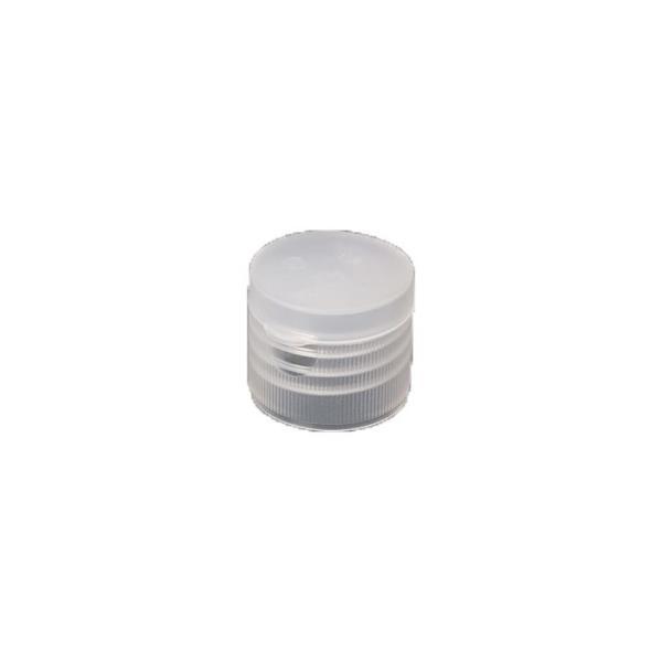 28-410 Natural Smooth Flip Cap with Foil Seal Liner - 898