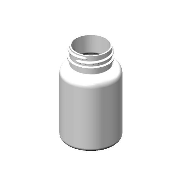 50cc HDPE White Round Packer