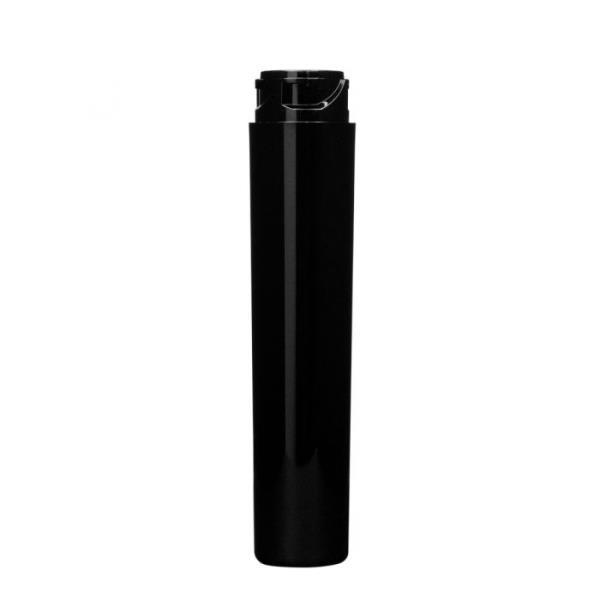 3.33in Black PS Child Resistant Vial, 16mm Lug Finish