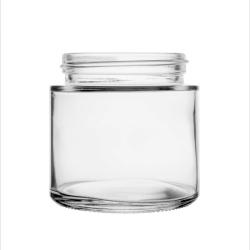 3oz 53mm Regular Clear Glass Jar