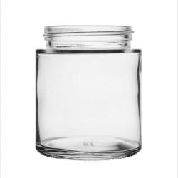 4oz 53mm Regular Clear Glass Jar