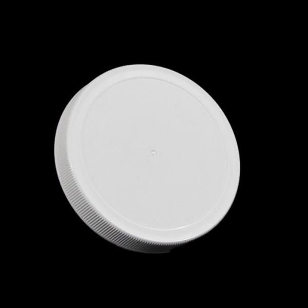 83MM White Threaded Lid