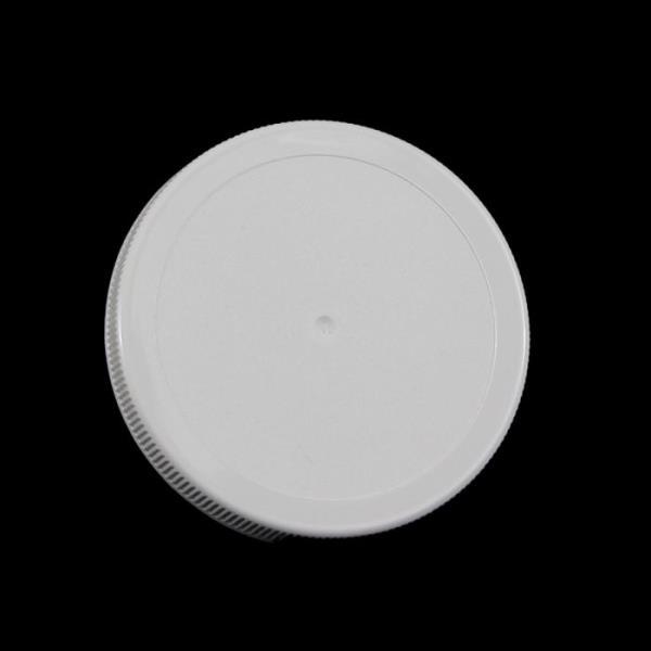 110MM White Threaded Lid