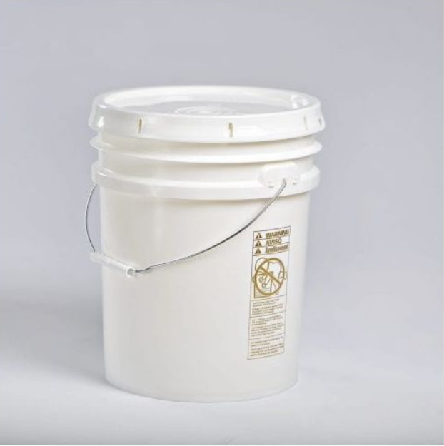 5 gallon M2 Traditional Pail- Lid# 600437/ Pail# 500191