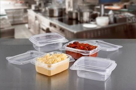 Celebration Packaging introduces new range of reusable, microwavable hinged-lid food containers