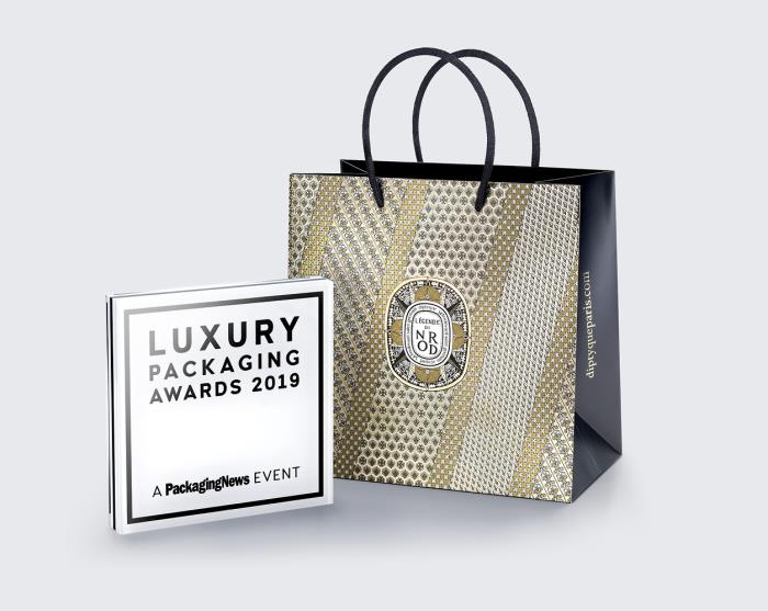 Procos awarded for Diptyque Christmas Bag 2018 at 2019 Luxury Packaging Awards